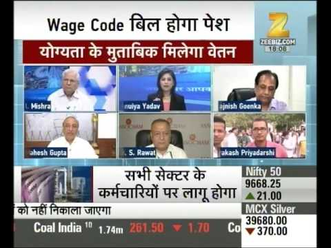 Modi govt's plan to implement wage code bill