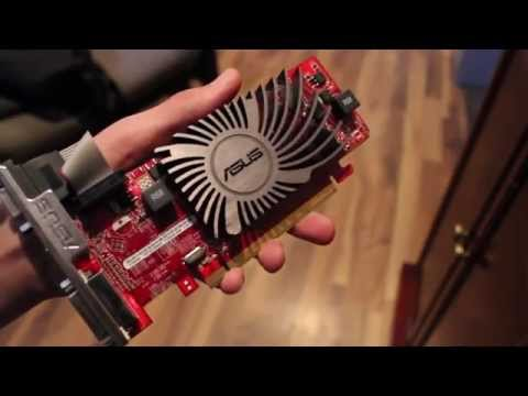 Asus AMD Radeon HD6450 R5 230 2GB Graphics Card Review And Testing