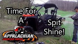 A Couple Tips When Cleaning Your SxS