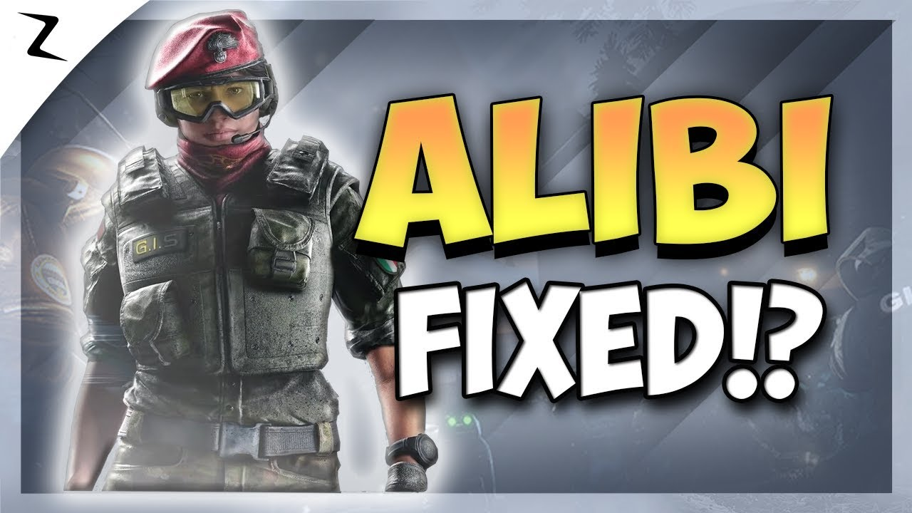 07949e904f210 TTS! Alibi Fixed ! Operation Para Bellum! - Rainbow Six Siege - YouTube