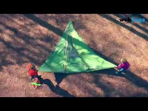 How to pitch a Tentsile Stingray Tent - Suspended Tree Tent C&ing Experience - YouTube & How to pitch a Tentsile Stingray Tent - Suspended Tree Tent ...