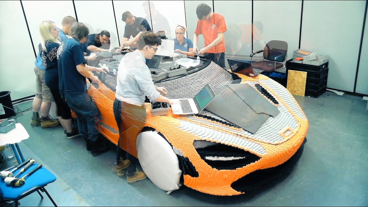 How To Build A Full Size LEGO McLaren