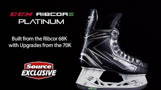 Source Exclusive CCM Ribcor Platinum Hockey Skates | Source For Sports