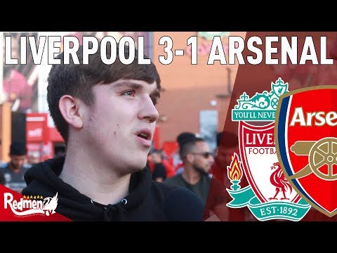 That Performance Was Scouse As ****. | Liverpool V Arsenal 3-1 | Fan Cam