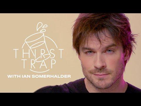 Ian Somerhalder Talks Vampires, Bourbon, And Saving the World on Thirst Trap | ELLE
