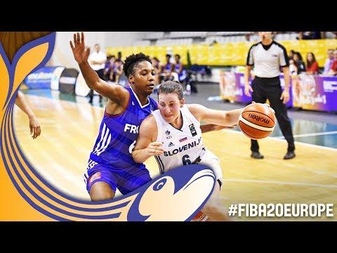 Slovenia v France - Full Game - Semi-Finals - FIBA U20 Women's European Championship 2017