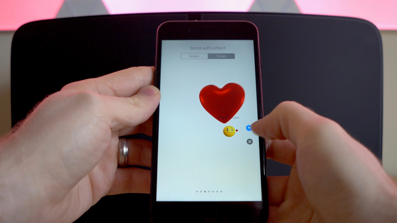 How To Send Love Screen Effect And More Over Imessage