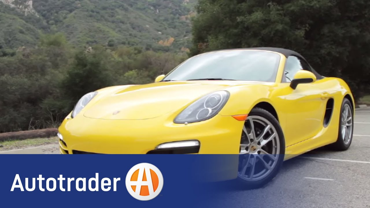 2013 porsche boxster convertible new car review autotrader
