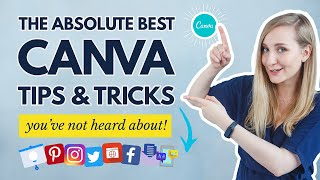 20 CANVA TIPS AND TRICKS 2021 You Wish You Knew Earlier   Canva Tutorial For Beginners