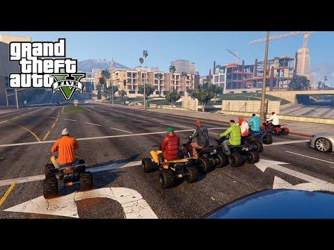 GTA 5 KasaanTv Biker Gang Part 2 [HD]