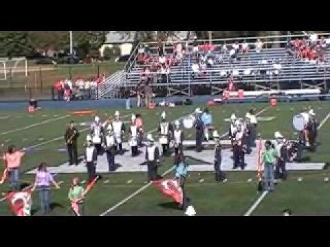 Rutherford High School Marching Band Show 2008 (Part 1)
