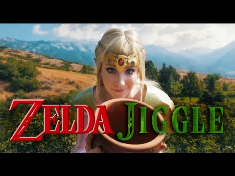 Zelda Jiggle - Jason Derulo 'Wiggle' Parody