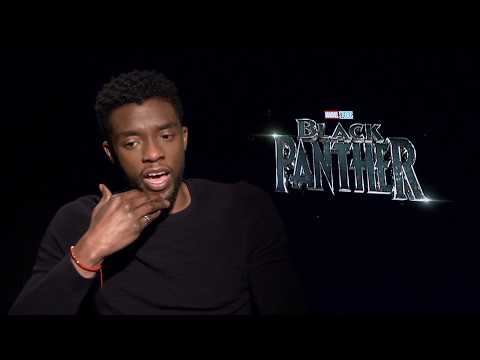 BLACK PANTHER Chadwick Boseman Interview