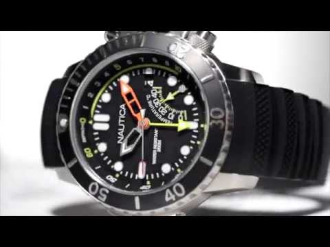 Nautica | Fall 2015 | NMX Dive Analog Sport Watch
