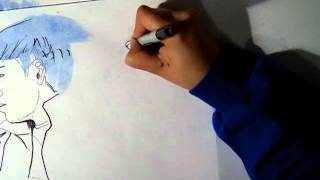 2012 BIGBANG COVER - Blue (Drawing)