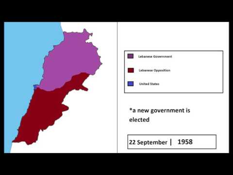 The 1958 Lebanon Crisis