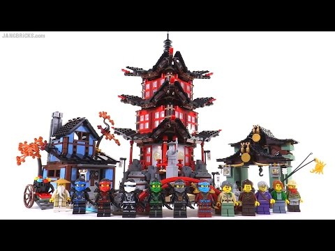 LEGO Ninjago Temple of Airjitzu review! set 70751
