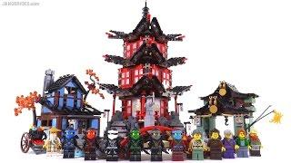 LEGO Ninjago Temple of Airjitzu review! set 70751