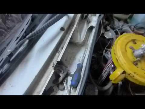 ВАЗ 2106# Замена крана отопителя