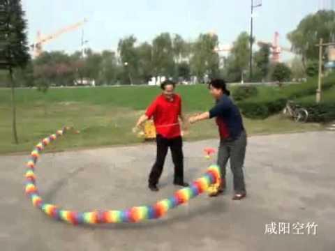 相聚咸阳湖畔2 - - XianYang Kongzhu (Diabolo) Team