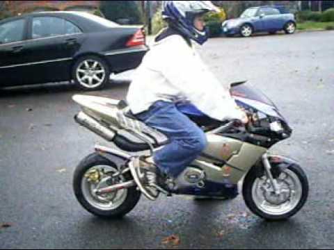 x-18 pocket bike