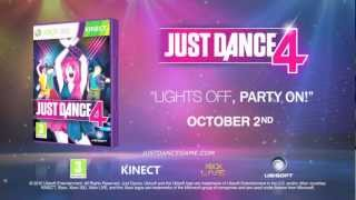 Just Dance 4 - Game Trailer - Kinect
