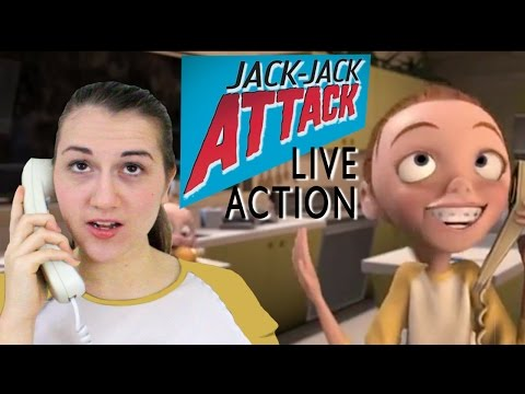 Jack Jack Attack - The Incredibles - LIVE ACTION