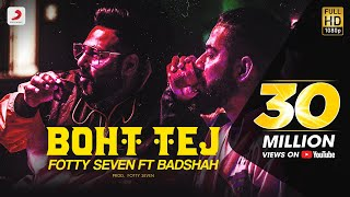 Download Lagu Fotty Seven feat Badshah | Boht Tej | Latest Rap Song 2020 mp3
