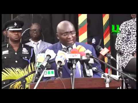 Veep Dr. Bawumia launches the new Smart Card for Driver's License and Vehicle registration.