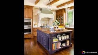 видео Кухня в стиле кантри с фото