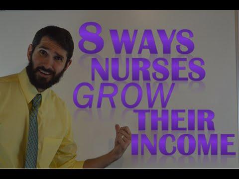 8 Ways Nurses Can Increase Their Income