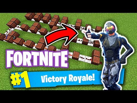 Fortnite Dance Song - Minecraft Note Block Doorbell Tutorial
