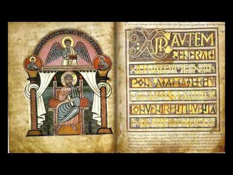 Book of Kells (Gaelic Psalm Singing set to Insular Art)