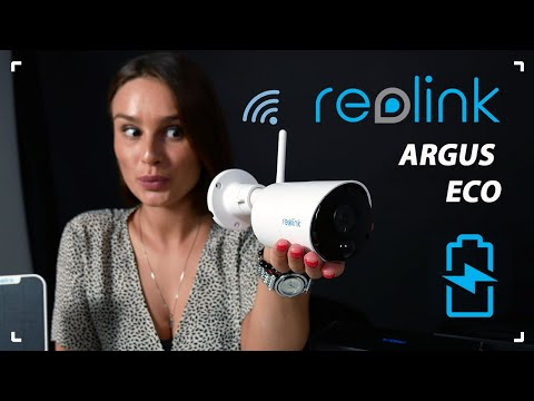 Обзор на аккумуляторную беспроводную уличную Wi-Fi IP камеру Reolink Argus Eco