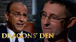 Stand-Off Between Dragons And Promising Father/Son Duo   Dragons' Den