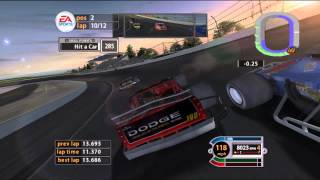 Dolphin Emulator 4.0-3443 | NASCAR 2005: Chase for the Cup [1080p HD] | Nintendo GameCube