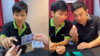 Funny Reaction Chinese Magic Tricks !!!