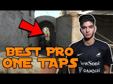 Craziest ONE TAPS Ever Shot By PRO PLAYERS ★ CS:GO