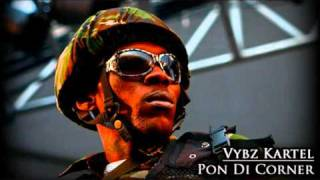 Download Vybz Kartel - Pon Di Corner MP3 song and Music Video