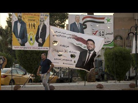 شاهد: اللامبالاة والإحباط يخيمان على الشارع العراقي قبل أسابيع من الانتخابات…