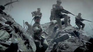 China vs US in Korea War - Taking of Longyuan Hill [Eng Sub] 龙缘峰攻坚战