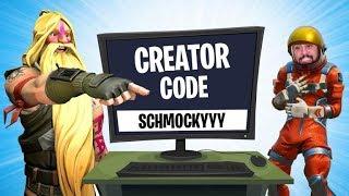 Das YouTuber CREATOR CΟDE BATTLE in Fortnite