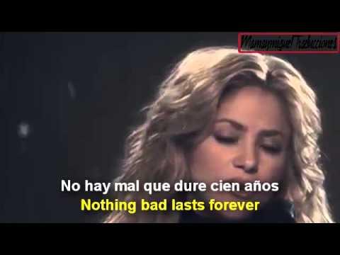 Shakira  Sale El Sol The Sun Rises Letra  Ingles & Español