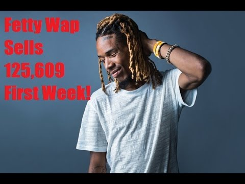 Fetty Wap Scores a #1 Album with his Debut with 125,609 Albums Sold First Week.