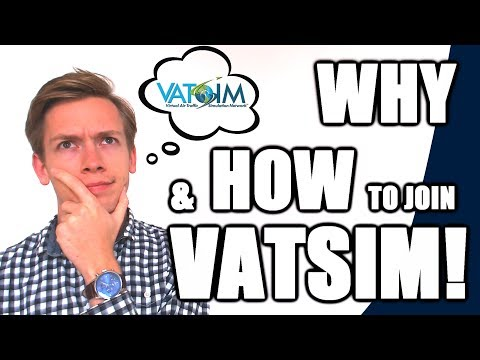 ✈️🌎 Why Should YOU join VATSIM? What it is & How to Sign Up! [VATSIM Tutorials 2017 - #1]