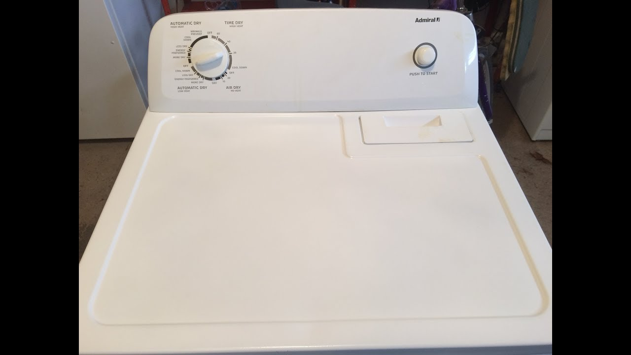 Whirlpool Admiral Kenmore Electric Dryer No Heat Timer
