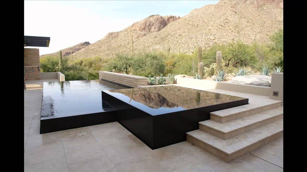 Vanishing Edge Pool And Spa In Black Granite Catalina