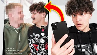 Reacting to TikToks About Me (CAUGHT WITH BOYFRIEND)