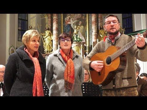 STRASSER DREIGESANG singt beim Weihnachtskonzert in Kirchberg