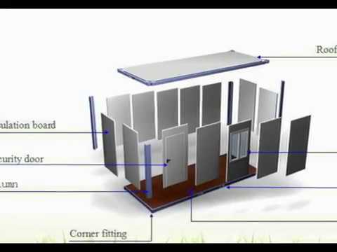 shipping container construction details youtube. Black Bedroom Furniture Sets. Home Design Ideas